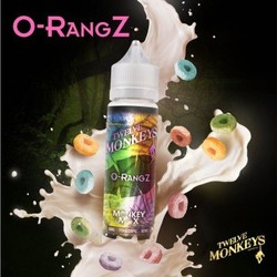 O-RangZ (50ml) E-Liquid by Twelve Monkeys