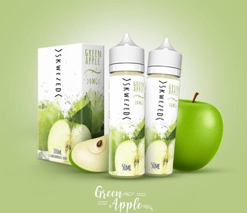 SKWEZED Skwezed Green Apple 2x50ml E-Liquid
