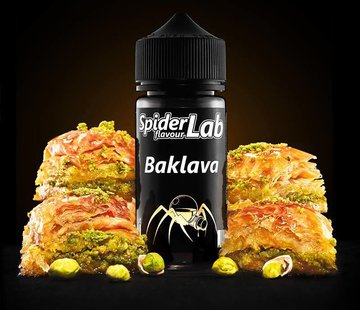 SpiderLab Flavour Concentrates SpiderLab - Baklava - Shake & Vape Aroma