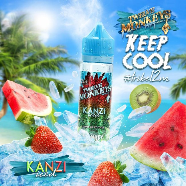 Twelve Monkeys Vapor Co. 12 Monkeys - Kanzi Iced - 75 VG 50ML