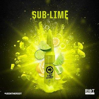 RIOT LABS LIQUIDS Riot Squad - Sub Lime