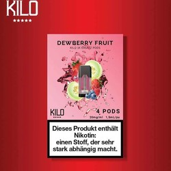 Kilo 1K Dewberry Fruit Pods