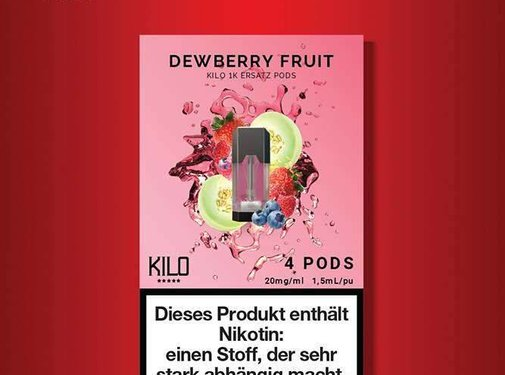 KILO Kilo 1K Dewberry Fruit Pods