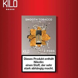 Kilo 1K Smooth Tobacco Pods