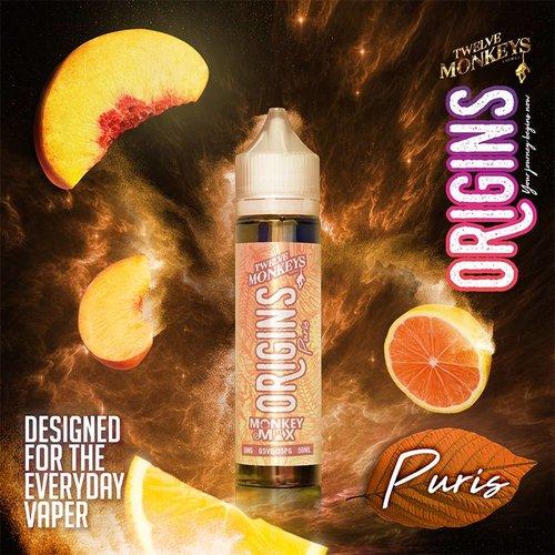 Twelve Monkeys Vapor Co. Twelve Monkeys Origins - Puris 50ml E-Liquid