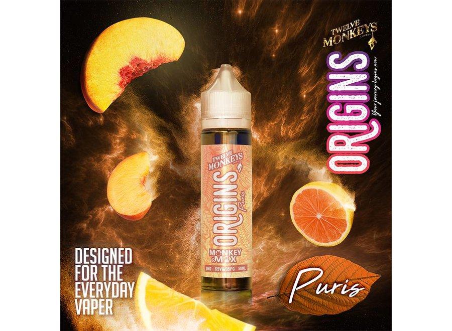 Twelve Monkeys Origins - Puris 50ml E-Liquid