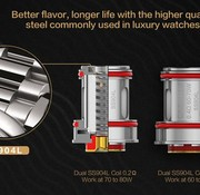 Uwell Uwell Crown 4 (IV) Coil / 4er Pack
