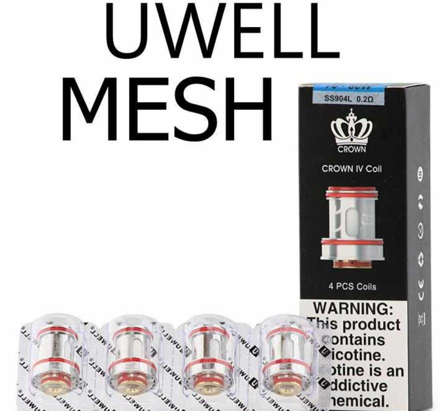 Uwell Crown4 Mesh Coils 4 Stück pro Packung
