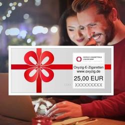 Geschenkgutschein von 10 bis 250 Euro