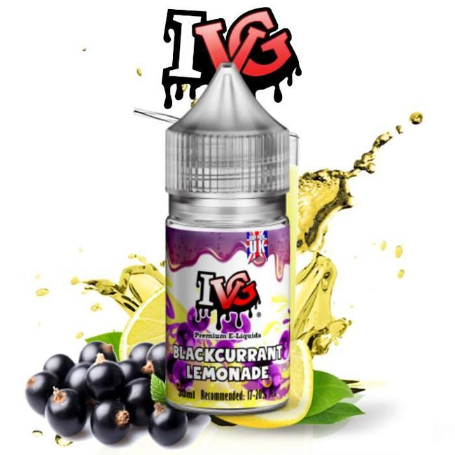 I LOVE VG I VG - AROMA BLACKCURRANT LEMONADE - 30 ML