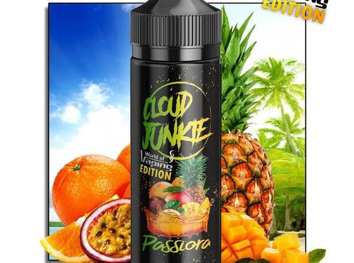 CLOUD JUNKIE CloudJunkie - Passiora - World of Vaping Edition 30ml Bottlefill Aroma