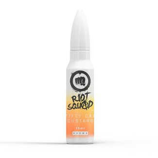 RIOT LABS LIQUIDS Riot Squad Shots - Fifty Cal Custard - Shake & Vape Aroma
