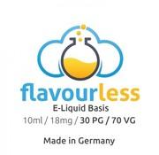 Flavorless Flavourless Nikotinshot - 70/30 18mg