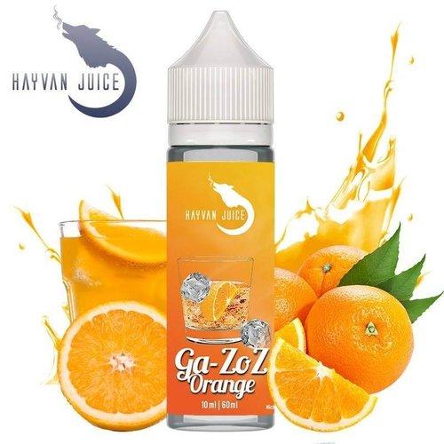 Hayvan Juice Hayvan Juice - Ga-ZoZ Orange 10ml Aroma
