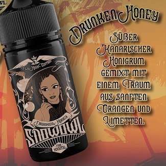 Island Fog Snowowl - Fly High Edition - Drunken Honey - 15ml Aroma