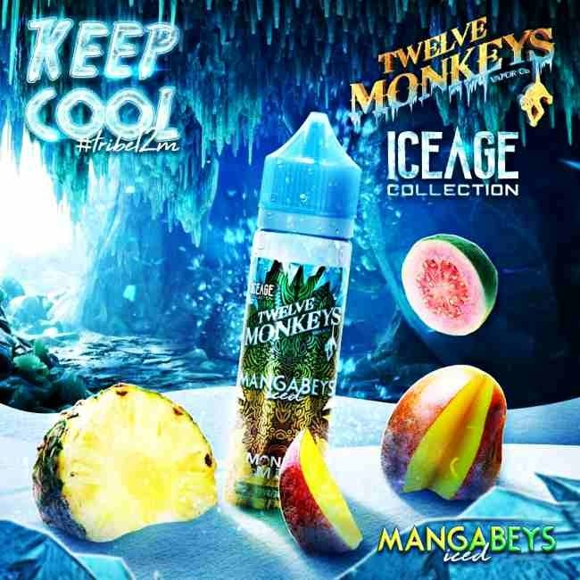 Twelve Monkeys Vapor Co. Twelve Monkeys - IceAge - Mangabeys ICED - 50ml