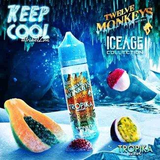 Twelve Monkeys Vapor Co. Twelve Monkeys - IceAge - Tropika ICED - 50ml Liquid