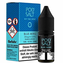Blue Berg 20mg 10ml Liquid by Pod Salt