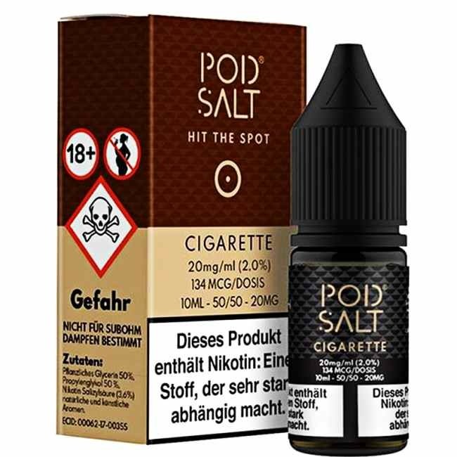 POD SALT Cigarette 20mg 10ml Liquid by Pod Salt
