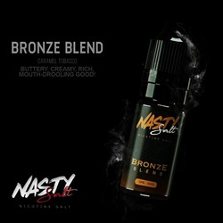 Nasty Salt Bronze Tobacco Eliquid 10ml