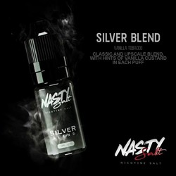 Nasty Salt Silver Tobacco Eliquid 10ml