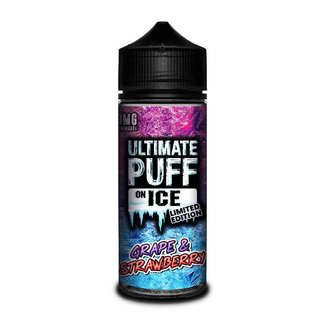 Ultimate Puff Ultimate Puff On Ice – Grape & Strawberry 100ml Liquid
