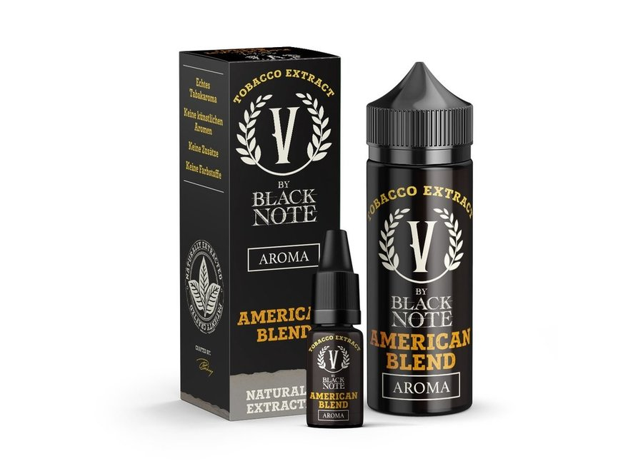 V by Black Note - American Blend - 10 ml Aroma