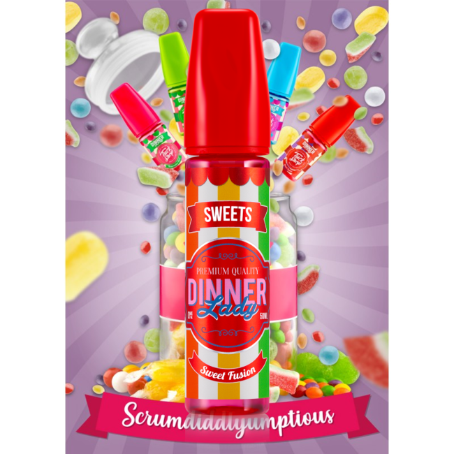 DINNER LADY Liquid Sweet Fusion - Tuck Shop by Dinner Lady