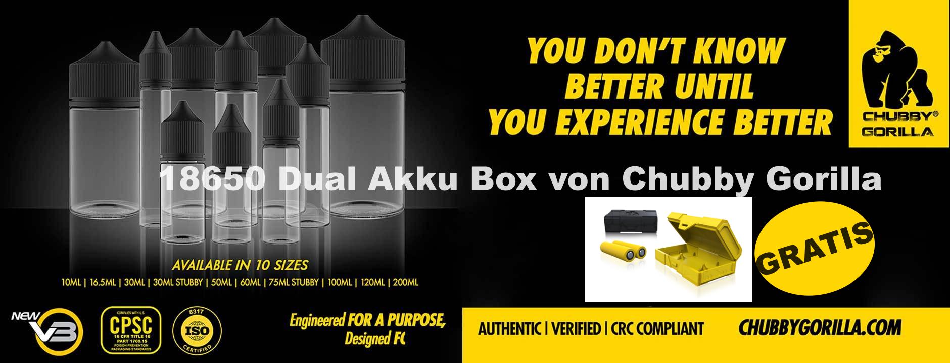 Chubby Dual Akku Box