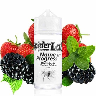 SpiderLab Flavour Concentrates *NEU* SpiderLab - Limited White Bottle Edition - Name in Progress - 10ml Aroma