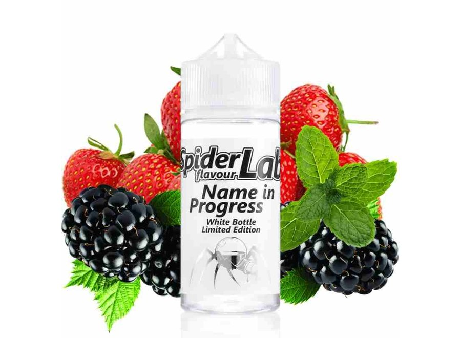 *NEU* SpiderLab - Limited White Bottle Edition - Name in Progress - 10ml Aroma