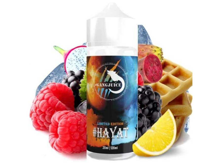 #Gangjuice - #Hayat Limited Edition Aroma 20 ml