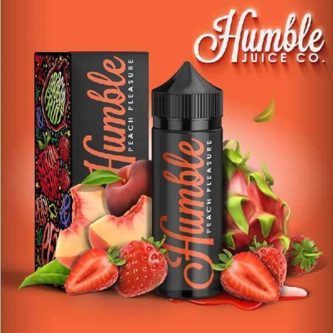 Humble Juice Co.  Peach Pleasure 100ml E-Liquid by Humble Juice Co.