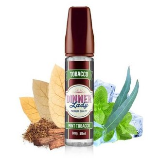 DINNER LADY Mint Tobacco 50ml Liquid by Dinner Lady Tobacco
