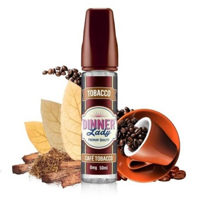 DINNER LADY Cafe Tobacco 50ml Liquid by Dinner Lady Tobacco