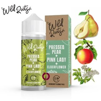 WILD ROOTS Wild Roots Pressed Pear 100ml Shortfill Liquid