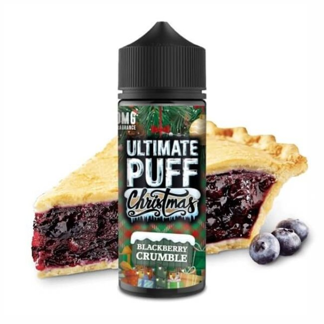 Ultimate Puff Ultimate Puff Christmas Edition – Blackberry Crumble 100ml E-Liquid