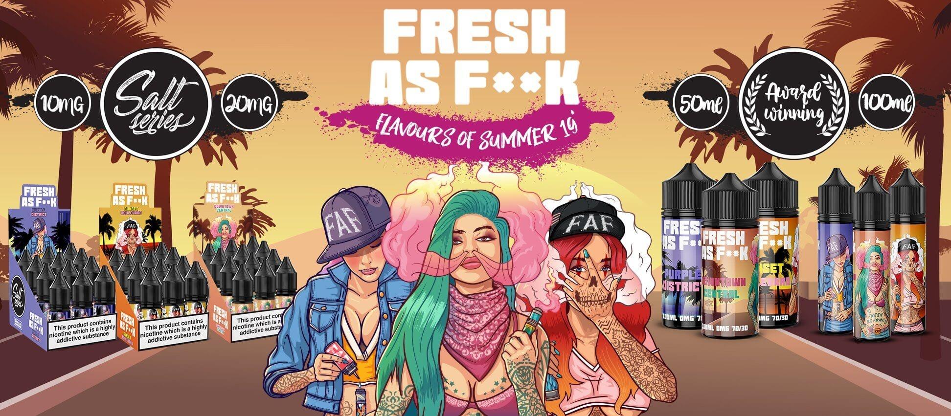 Fresh Vape Co Liquids