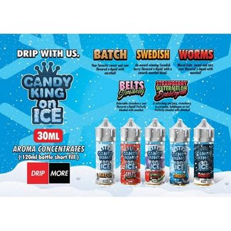 DRIP MORE Candy King on Ice (30ml/120ml) Longfill Aromen
