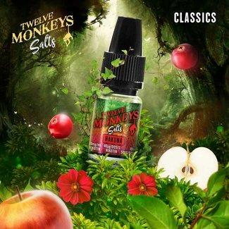 Twelve Monkeys Vapor Co. 12 Monkeys - Hakuna 10ml Nic Salt 20mg und 10mg