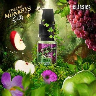 Twelve Monkeys Vapor Co. 12 Monkeys - Matata 10ml Nic Salt 20mg