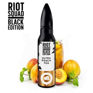 RIOT LABS LIQUIDS Riot Squad - Black Edition - Ultra Peach Tea - 15ml Aroma