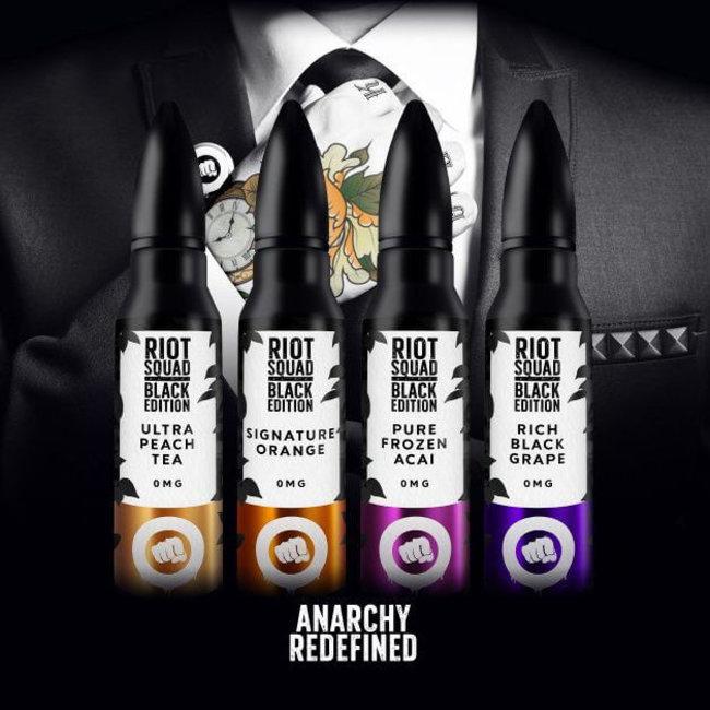 RIOT LABS LIQUIDS Riot Squad Black Edition - Bundle Paket 4 x 15ml