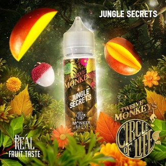 Twelve Monkeys Vapor Co. Twelve Monkeys - Circle of Life - Jungle Secrets - 50ml