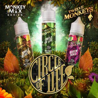 Twelve Monkeys Vapor Co. Twelve Monkeys - Circle of Life Bundle Paket 3x50ml