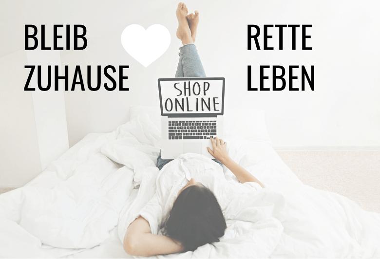 BLEIB ZUHAUSE - RETTE LEBEN