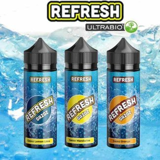 UltraBio Refresh Gazoz - Bundle Paket 3x10/120ml Aromen