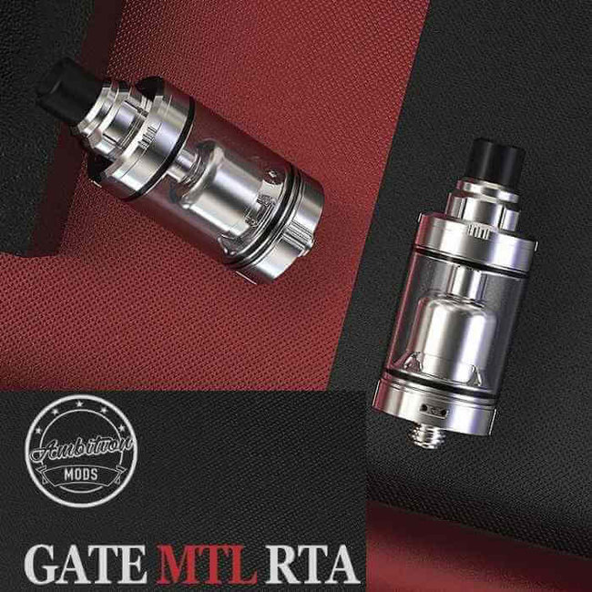 AMBITION MODS Ambition Mods Gage MTL RTA Selbstwickler Tank 3.5ml