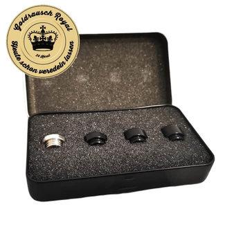 Goldrausch Royal Goldrausch Royal Edition No. 1 Drip Tip Set - 810er Mundstück