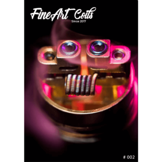 FineArt Coils FineArt Coils - Handmade #002 Fine Fused Clapton